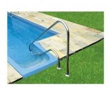 corrimão p/ piscina sem furar a impermeabilização