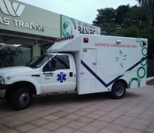 Ambulância 4x4