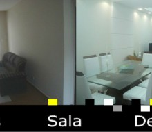Sala de Imóvel em Santos