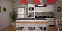 cozinha de luxo