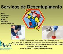 Serviços de Desentupimento
