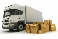 caminhão com caixas grande