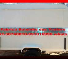 Trailer lanche a venda
