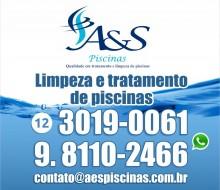 A&S Piscinas Limpeza de Piscina São José dos Campos