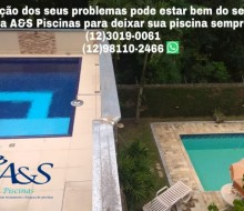 Piscina Recuperada A&S Piscinas São José dos Campos