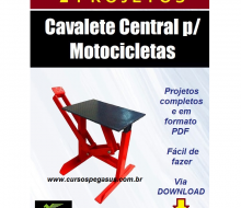 Cavalete central para Moto - Copia
