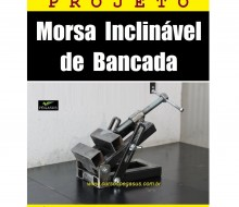Morsa Inclinável de Bancada