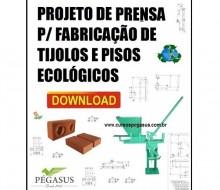 Prensa Para Tijolo Ecológico