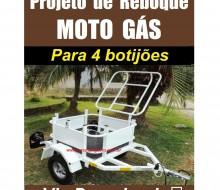 Reboque Moto Gás
