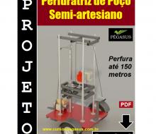 perfuratriz de poço semi-artesiano