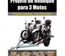 reboque para 3 motos
