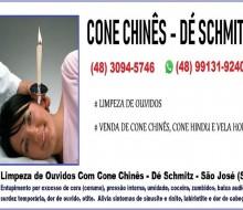 Cone Chinês - Fabricação e Venda de Cone Chinês -  Dé Schmitz - Terapeuta - 1a