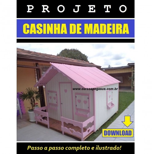 Casinha de Madeira 4