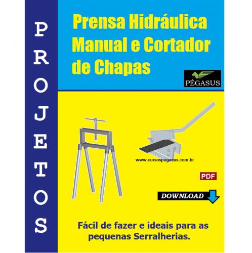 Prensa Manual e Cortador de chapas