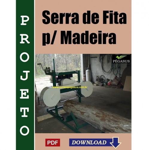 Serra de fita para Madeira