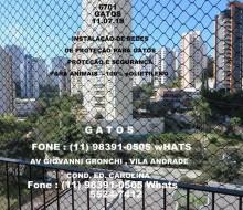 Av. Giovanni Gronchi, Vila Andrade , Cond. Ed. Carolina, cep 05724-005.