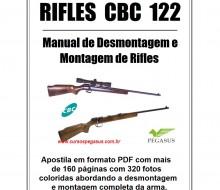 Manual de desmontagem e montagem de Rifles CBC modelo 122