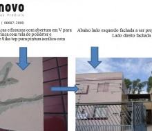 BH Pintura de Fachadas Belo Horizonte, BH Limpeza de Fachadas Belo Horizonte. Trincas e Fissuras