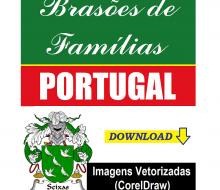 Brasões de Famílias Portuguesas.