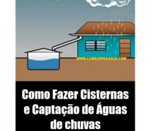 Cisterna e Captação de águas de chuvas