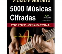 Cifras musicais - Pop Rock Internacional