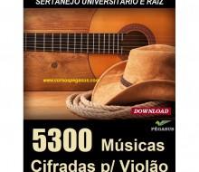 Música Cifrada Sertaneja