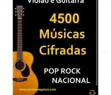 Músicas cifradas de Pop Rock Nacional