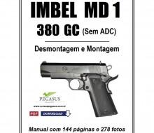 Manual de Desmontagem e Montagem Imbel MD1 380 GC