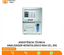 (1)-ASSISTÊNCIA TÉCNICA ANALISADOR HEMATOLÓGICO MAX CEL 300